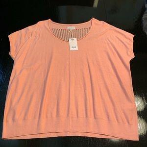 NWT Peach Sweater